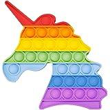 sb components Pop It Fidget Sensory Toy, Fidget Toys Set for Kids & Adults, Bubble Popper Fidget Toy Stress Anxiety Relief To