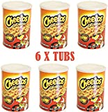 Cheetos Crunchy Dangerously Cheesy 120.4g Tub (Pack of 6) from sweetsfromtheusa