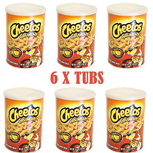cheetos-crunchy-dangerously-cheesy-1204g-tub-pack-of-6-from-sweetsfromtheusa