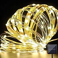 GreForest LED luci 10 Metri bianco caldo 100 LED …