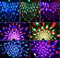 Disco DJ lights The stage lights Music bouncing lamp Party flash Magic ball DJ light Multi mode music lamp 3W
