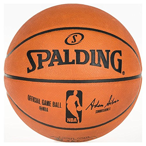 Spalding NBA Gameball Basketball Ball, orange, 7 (Nba-basketball-spiel)