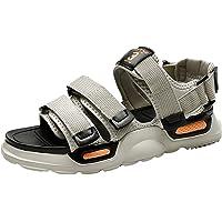XIDISO Sandali sportivi da uomo Sandali da trekking con chiusura in velcro Scarpe da esterno Scarpe casual Uomo Water…