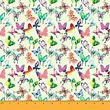 Soimoi 60 Zoll Breiter Schmetterlings-Druck 180 GSM 2-Way