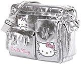 BREVI Wickeltasche 'Hello Kitty' Pflegetasche, grau