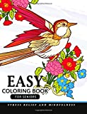 Easy Coloring Books for Seniors - Best Reviews Guide