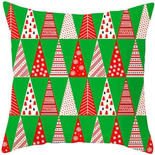 HEVÜY Weihnachten Designs Kissenbezug Set für Festliche Hausdekoration und Wohnzimmer Akzent (Kissen Nicht im Lieferumfang -