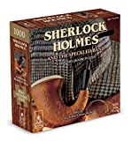 """Classic Mystery - Sherlock Holmes - Contains Story, 1000 Piece 23""""x29"""" Jigsaw Puzzle and Mystery Solution"""