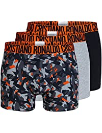 CR7 Basic Trunk Allover Print Unterhose Herren