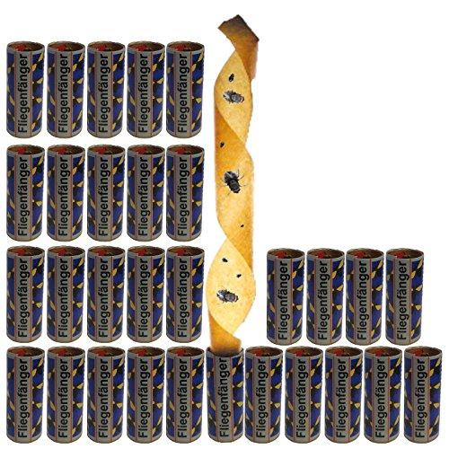 3–90 pièces mouche Attrape-rêves Capteur de mouches Piège Piège encollé mouches Piège mouches Colle à roulettes tue-insectes, Lot de 30