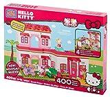 Mega Bloks 10822U Accessori bambola, casa sulla spiaggia di Hello Kitty