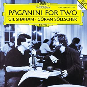 Göran Söllscher - Gil Shaham -  Paganini For Two