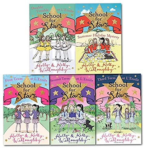 Schools for Stars Collection 5 Books Set (First Term at L Etoile, Second Term at L'Etoile, Third Term at L Etoile, Summer Holiday Mystery, Double Trouble at L Etoile)
