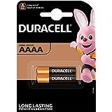 Duracell Set di 2batterie Ultra AAAA–1.5V–Batterie alcaline AAAA