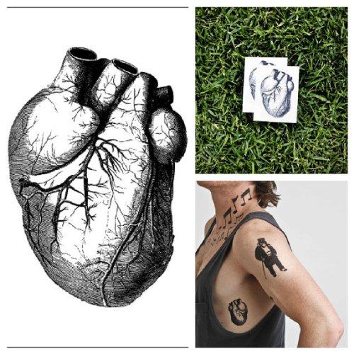 Tatouage Vrais Coeur