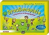 Draußenspiele: 40 Ideenkarten mit Bewegungsspielen für Kinder von 3-6 Jahren