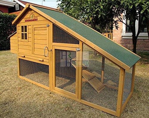 Pets Imperial® - 190cm Poulailler Sandringham - Jusqu'À 4 Poules - Système De Verrouillage Innovant