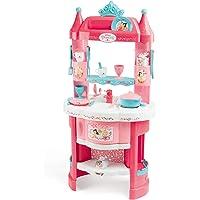 Smoby - Disney Princesses - Cuisine - 19 Accessoires - Jouet d'Imitation pour Enfant - Dès 3 Ans - 311700