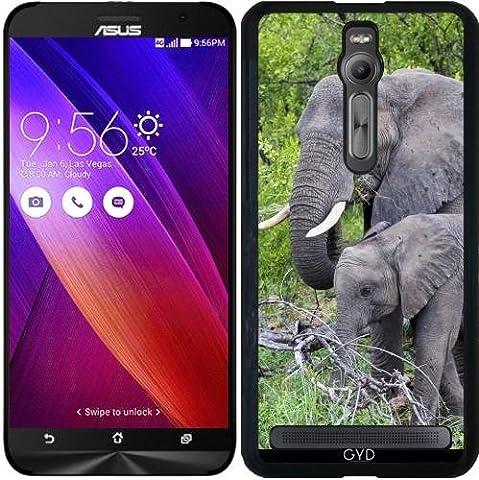 Case for Asus Zenfone 2 (ZE551ML) - Elephant baby mother