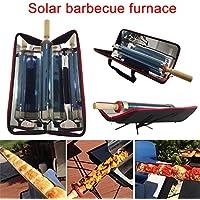 ZREAL Parrilla Solar portátil al Aire Libre Que dobla la Clase de la Comida de la Barbacoa del Metal Que Cocina la energía Inoxidable con eficacia