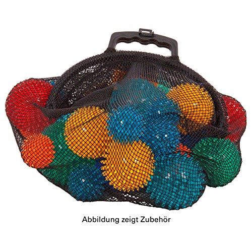 Ballnetz Balltragenetz Balltasche für 40 Bälle Fußbälle Handbälle, GELB