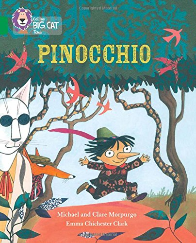 Pinocchio: Band 15/Emerald (Collins Big Cat)