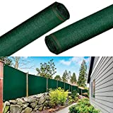 IDMarket - Brise vue haute densité 1,2x10m 300 gr/m² vert qualité pro
