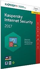 Kaspersky Internet Security 2017 1 Gerät Upgrade - [Online Code in einer Kiste] (Frustfreie Verpackung)