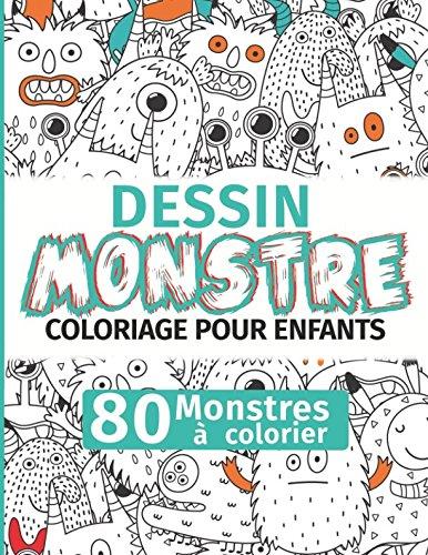 riage pour enfants : 80 Monstres à colorier ()