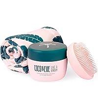 Coco & Eve That's A Wrap Set - Maschera Capelli, Spazzola Districante e Asciugamano in Microfibra | prodotti per la cura…