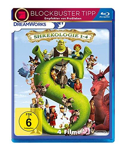 Dvd-filme, Shrek (Shrek - Die komplette Geschichte - Quadrilogy [Blu-ray])