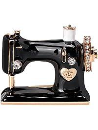 iTemer Moda máquina de Coser Estilo Broche Chic diversión señoras Bolsos de Ropa Accesorios de Regalo
