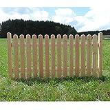 Holz Zaunelement Länge: 192cm - Startelement - Douglasie - 4090/42 DO