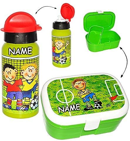 2 tlg. Set _ Lunchbox / Brotdose & Trinkflasche -