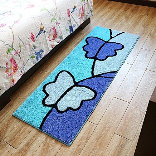 Juzhijia rettangolo tappetini per il salottino soggiorno home antiscivolo camera da letto per bambini tappeti bedside mat assorbente da cucina tappeti,50 x 180 cm,pattern 07