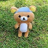 WODE Plüschtier Sonnenhut Entspannt Bär Puppe Plüschtier Bär Buddy Puppe Kind Spielzeugauto...