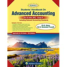 Padhuka's Students Handbook on Advanced Accounting Group II: for CA IPCC Old Syllabus