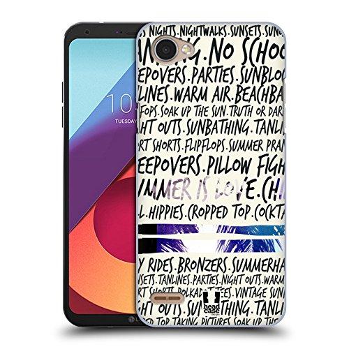 Head Case Designs Sommersachen Sommer Schnapschuss Ruckseite Hülle für LG Q6 / Q6 Plus