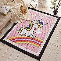 Super Large Baby Kids Cotton Rugs Nursery Room Animal Pattern Carpets Play Mats 1.95 * 1.45 Meter