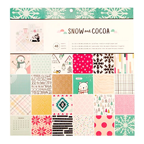 American Crafts Crate Paper Single-Sided Paper Pad 12