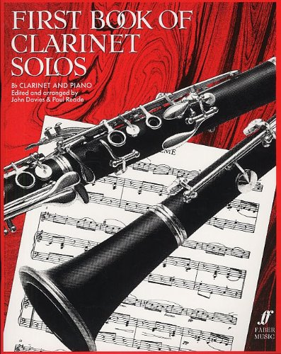 First Book Of Clarinet Solos (B Flat Edition). Partitions pour Clarinette, Accompagnement Piano