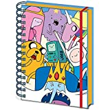 """Adventure Time SR71968 """"Characters A5 Wiro"""" Notebook"""
