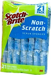 Scotch-Brite 21 Pack Non-Scratch Scrub Sponges