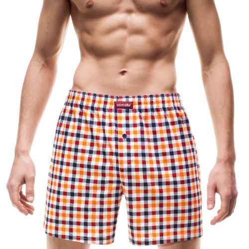Cornette Herren Klassisch Boxershorts CR-002/1 (Orange (537904), S)