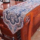 Tischfahne - Tischdecke, Heimtextilien Aus Stoff, Amerikanischer Europäischer Stil, Retro-Stil, TV-Schrank Couchtisch Tischdecke Einfach, Moderne Minimalistische Mode Tischdecke ( größe : 33X180cm )