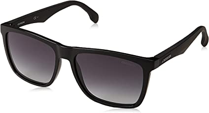 Carrera UV Protected Rectangular Unisex Sunglasses - (CARRERA 5041/S 807 569O|56|Black Color)