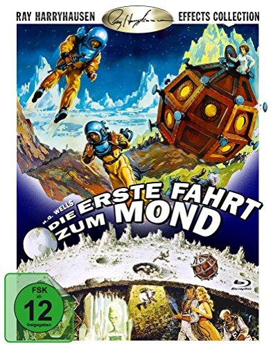Die erste Fahrt zum Mond (First men in the moon) [Blu-ray] (First Men In The Moon Film)