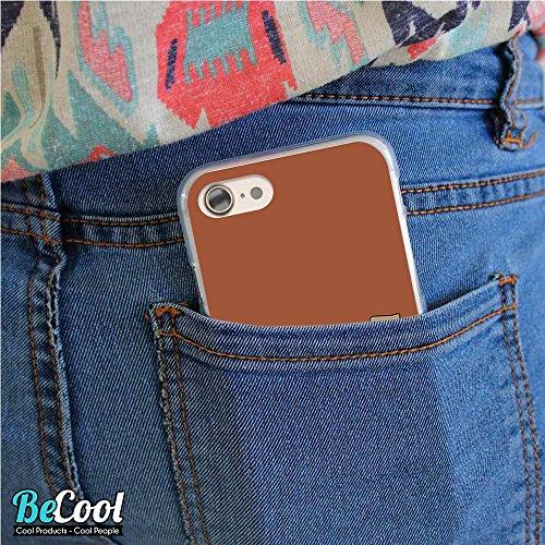 BeCool®- Coque Etui Housse en GEL Flex Silicone TPU Iphone 8, Carcasse TPU fabriquée avec la meilleure Silicone, protège et s'adapte a la perfection a ton Smartphone et avec notre design exclusif. Vie L1628