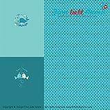Finn liebt Annie Jersey Kinderstoff Meeresströmung Panel 0,84 x 160cm