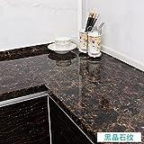 Die Küche Fliesen Aufkleber Ölfesten Wasserdicht und Ölbeständig selbstklebende Aufkleber Marmor Kamin Gehäuse Desktop ist 5 Meter lang und 0,6 Meter breit (3M*L), D